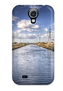 Galaxy Case - Tpu Case Protective For Galaxy S4- Locations Los Angeles Nature Locations