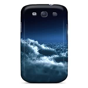 Waterdrop Snap-on Moon Over Clouds Case For Galaxy S3 by icecream design
