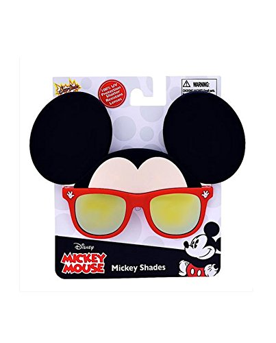 SunStache Disney Mickey Mouse Sunglasses Mask (Mickey) (Disney Couples Costume)