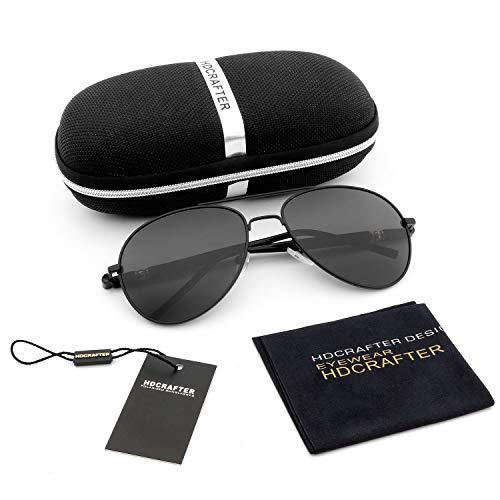 Amazon.com: Aviator - Gafas de sol polarizadas para hombre y ...