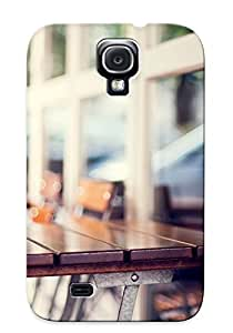 Podiumjiwrp Snap On Hard Case Cover Coffeehouse Terrace Protector For Galaxy S4