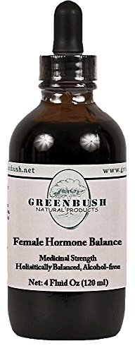 Female Hormone Balance Formula Alcohol-free Liquid Concentrated Extract. Super Value Size 4oz Bottle (120ml) 240 Doses of 500mg. Top herbs reproductive health, menstrual cycle and menopause symptoms Liquid Menopause Formula