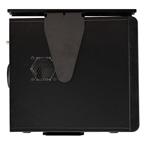 Bush Business Furniture CPU Holder - Black 9W X 14D X 23H ERGONOMICHOME BUSH BUSINESS FURNITURE TAA Compliant by ErgonomicHome Bush Business Furniture (Image #2)