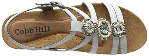 Rockport Cobb Hill Womens Hannah CH Sandal White