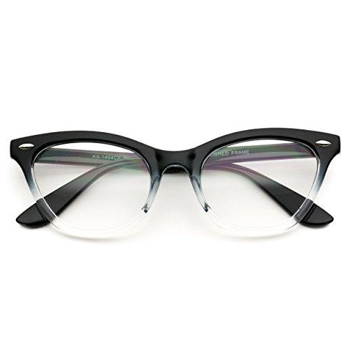 عینک شفاف لنز Vintage یکپارچهسازی با سیستمعامل شیشه چشم گربه