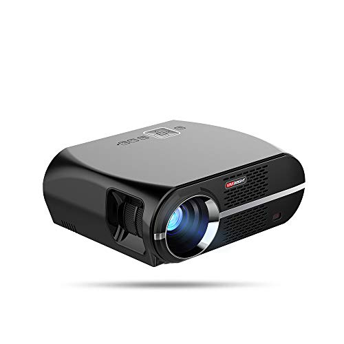 HD Projector, Mini Projector, 3500 Projectors for Video Projector, Support 1080P Full HD, Compatible with SDTV/EDTV / HDTV, NTSC, PAL/SECAM, Home Theater ()