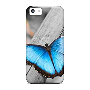 Shockproof Cell-phone Hard Covers For Iphone 5c With Allow Personal Design Fashion Butterfly Series TimeaJoyce