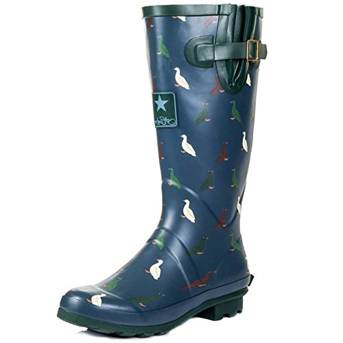 Rain Blue Duck Wellie Boots Women's Festival Onlineshoe Wellington HT1w1I