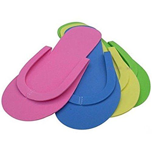 Nail Kaimeng Slippers Foam Possono Colori Spa Usa i nbsp;pz Salon Variare Flop Getta Flip 36 Multi Color E SBgSrnWv