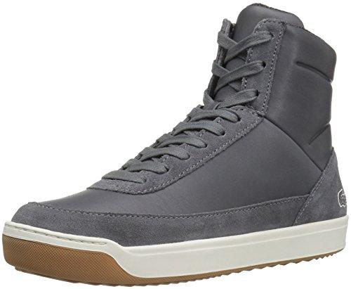 Lacoste Women's Explorateur Calf 316 2 Caw Dk Gry Fashion Sneaker, Dark Grey, 7 M US