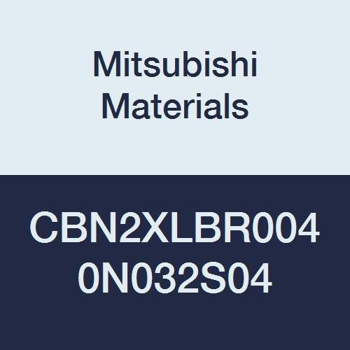0.6 mm LOC 2 Long Neck Flute 0.8 mm Cutting Dia 3.2 mm Neck Length Ball Nose Shape Mitsubishi Materials CBN2XLBR0040N032S04 Series CBN2XLB CBN End Mill 0.4 mm Corner Radius 4 mm Shank Dia