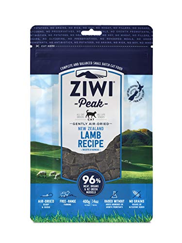 ZiwiPeak Daily Cat Food Pouches Lamb, 400 g