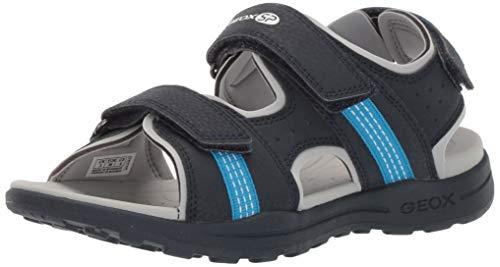 Geox VANIETT BOY 4 Velcro Play Sandal Sport, Navy/Blue, 29 Medium EU Little Kid (11 US)