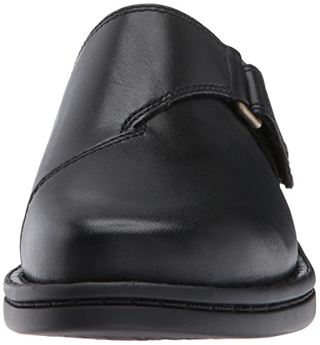 Clarks Women's Patty Nell Mule, Black Leather, 9.5 M US