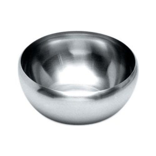 Alessi 206/12 Dessert / Salad Bowl, Stainless Steel, Set of 6 by Alessi