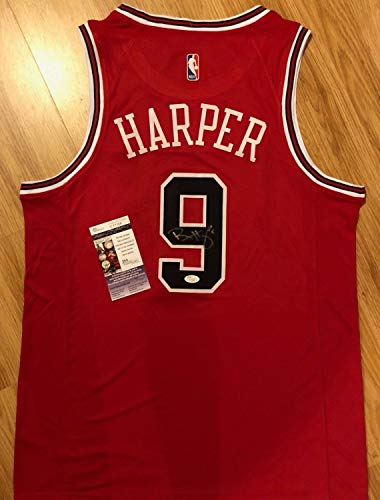 72cf1d51859 Rare Ron Harper Autographed Signed Memorabilia Chicago Bulls Basketball  Jersey Photo Coa JSA