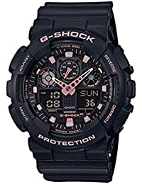 G-Shock Black Rose Gold Analog Digital Watch GA100GBX-1A4