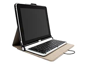 Writer 1 for iPad 1 keyboard + Case (Aluminum Bluetooth Keyboard, Quick Eject and Easy Angle Function)