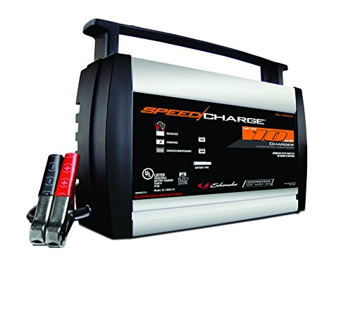 Schumacher SC-1000A 2/6/10A 12V SpeedCharge Battery Charger (Farm Tractor Battery)
