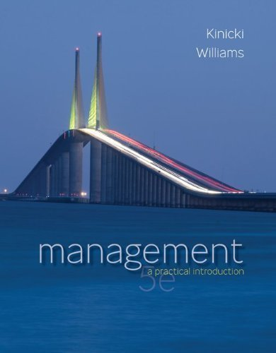 By Angelo Kinicki, Brian Williams: Management Fifth (5th) Edition ebook