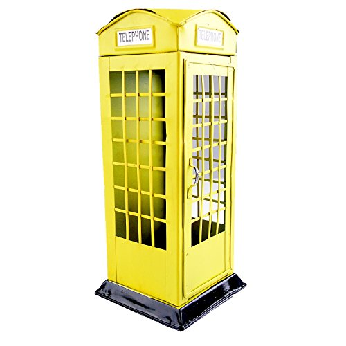 Chadstone Saving Coin Piggy Phone Booth Craft Coin Storage Box London Vintage Style Cash Money Bank - Chadstone Kids