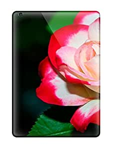 Annie T Crawford Premium Protective Hard Case For Ipad Air- Nice Design - A Delicate Rose