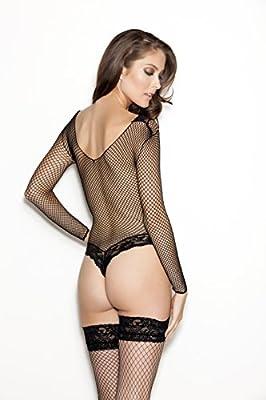 a7a8227f4f5 Ann Summers Large Black Monica Fishnet Body Bodysuits for Women ...