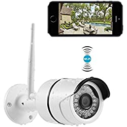 Security Camera INKERSCOOP 720P HD Indoor&Outdoor IP Camera WiFi Wireless Waterproof IP Monitoring IR-Cut Night Version&Motion Detection Alert,Video Monitoring Home Surveillance System Network Camera