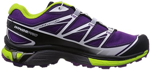 Chaussure Women's Course Pro Chaussure AW15 Purple Wings Pro Women's Salomon Wings Salomon Trial 6ETqg
