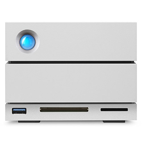 LaCie 2Big Dock 16TB RAID Thunderbolt 3 7200RPM External Hard Drive (STGB16000400) by LaCie