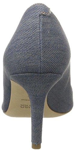 Hugo Hellia-d 10197218 01, Zapatos de Tacón para Mujer Azul (Open Blue 470)