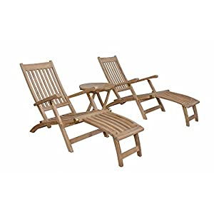 41KN2W8TRYL._SS300_ Teak Lounge Chairs & Teak Chaise Lounges