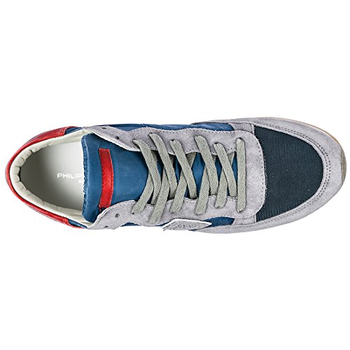 Tropez Gris Daim Chaussures Homme Model Baskets Philippe Sneakers En aBqBf