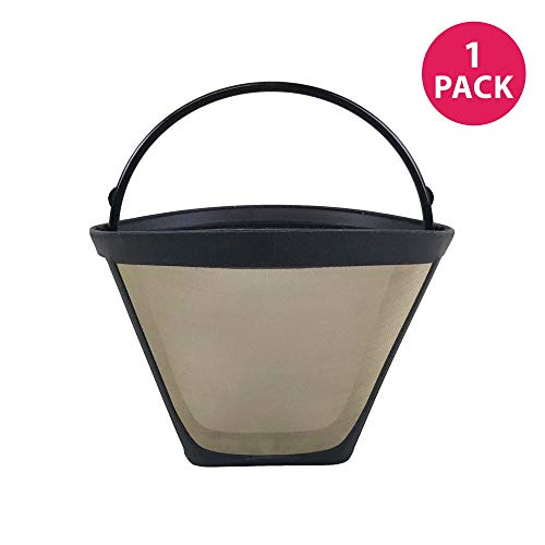 Think Crucial Replacement for Bonavita #4 Coffee Filter Fits BV1800 8-Cup Coffee Maker, Washable & Reusable