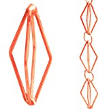 Monarchs Pure Copper Diamond Rain Chain 8-1/2 Feet Length