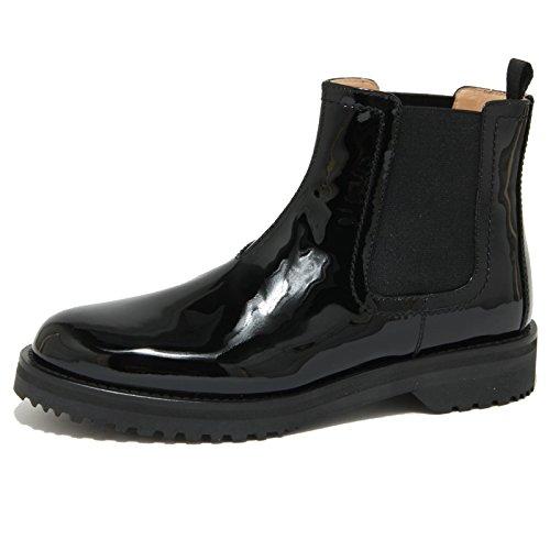 Nero Car Donna Women 1807o Tronchetti Beatles Shoe Boots Ybv7g6fyI