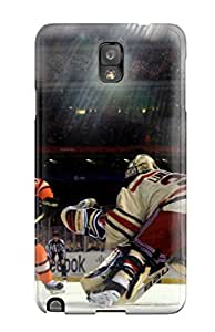 Durable Defender Case For Galaxy Note 3 Tpu Cover(philadelphia Flyers (24) )