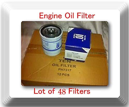 SO4476 oil FIlter Lot of [ 48 Filters ] Cross-reference: PH4967 V4476 V4477 51395 51394 90915-YZZM1 L14476 4476 4477 PH2840 PF1233 PF2127 PF2128 PF2246 B7165