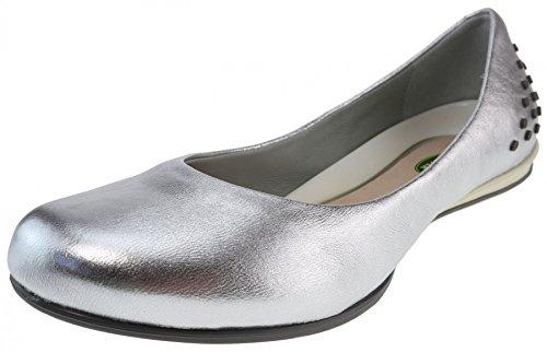 Shoes Betty Rover Ballerinas Leder Land Silber Landrover Silver 6IqRxRw5d