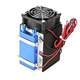 DC 12V Semiconductor Refrigeration Machine Cooler Radiator Air Cooling Heatsink DIY Device with Fan - 4&6 Chip (4 Chip) (Tamaño: 4 Chip)