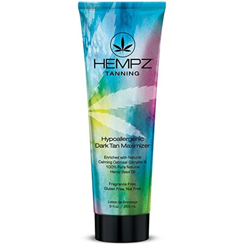 Hempz HYPOALLERGENIC DARK TAN Maximizer product image