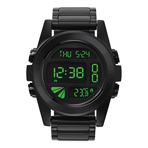 nixon unit watch black - 4