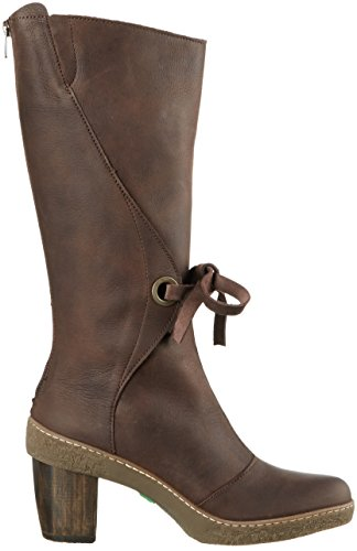 El Naturalista Nf72 Pleasant Brown / Lichen, Botas de Montar para Mujer Marrón (BROWN N12)