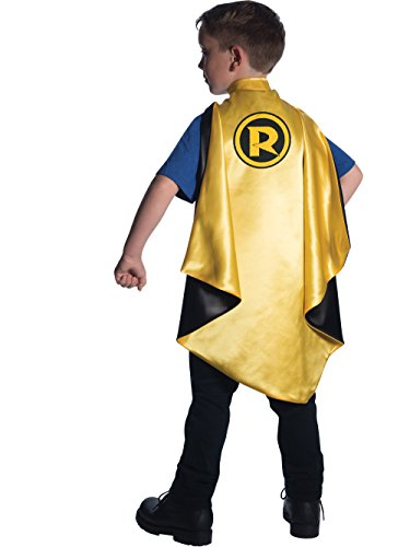 Rubie's Costume DC Superheroes Robin Deluxe Child Cape Costume
