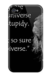 AnnetteL Case Cover Protector Specially Made For Iphone 4/4s Albert Einstein