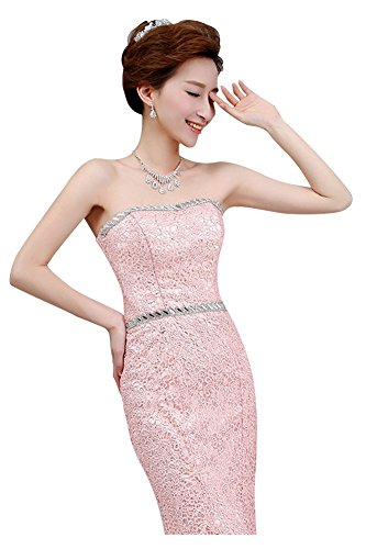 Mermaid Strapless With Drasawee Dress Lace White Design Formal Belt Women Evening qtHrOEnH8