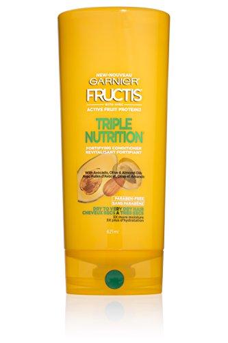 Triple Nutrition Fructis Conditioner (Garnier Fructis Triple Nutrition Conditioner, Dry to Very Dry Hair, 21 fl. oz.)