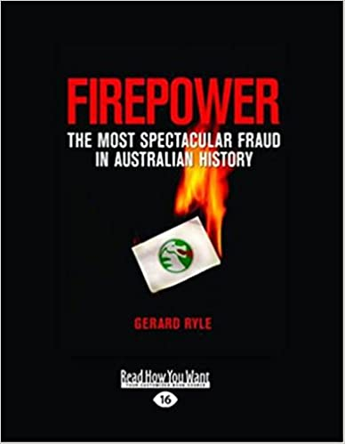Book Firepower: The Most Spectacular Fraud in Australian History
