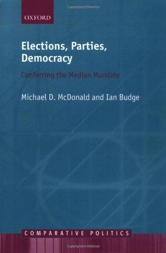 Download Elections, Parties, Democracy: Conferring the Median Mandate (Comparative Politics) Pdf