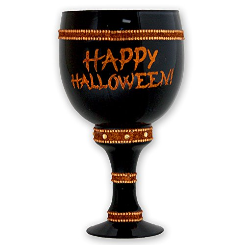 """Royale Pimp""""Happy Halloween"""" Pimp Cup, Black"""
